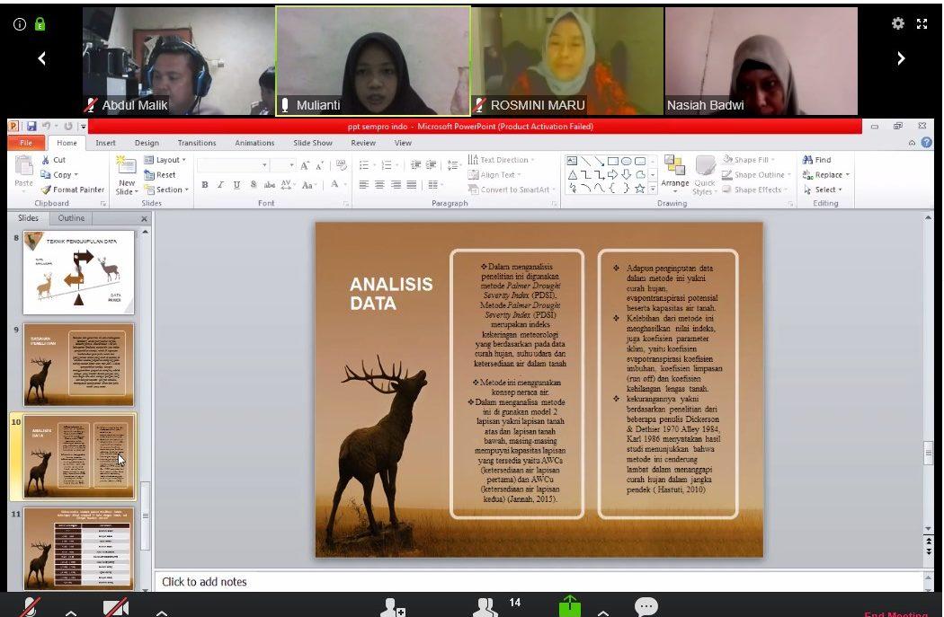 Pandemi Covid 19 Seminar Proposal Hasil Penelitian Dan Sidang Skripsi Secara Online