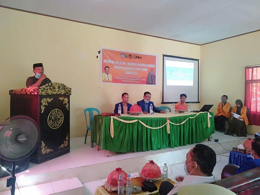Dokumentasi Seminar Rancangan MBKM desa Pa'rappunganta